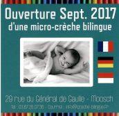 Ouverture micro-crèche bilingue